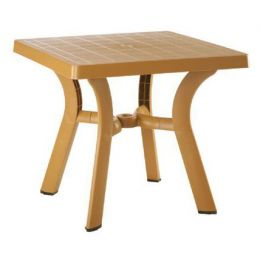 Стол квадратный HM-520 TABLE ROYAL 70X70 беж